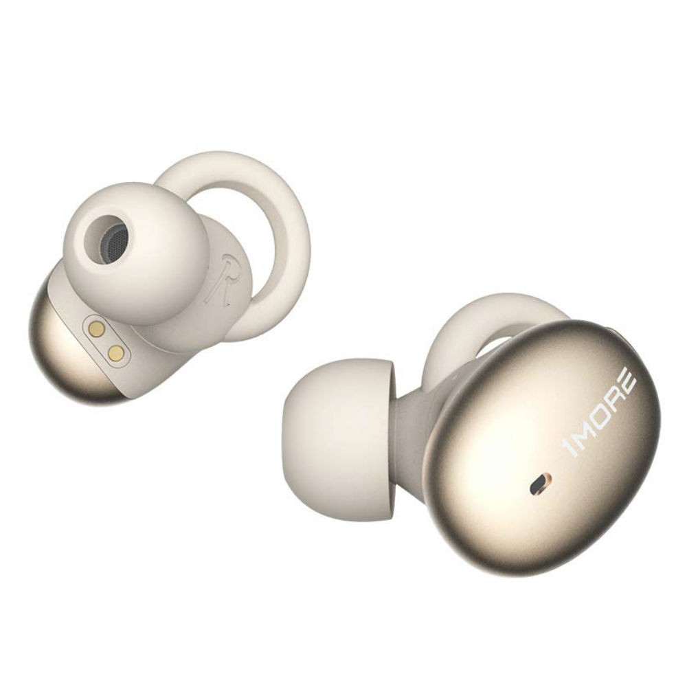1MORE Stylish True Wireless In-Ear Earbuds With aptX Low Latency Technology (Gold)