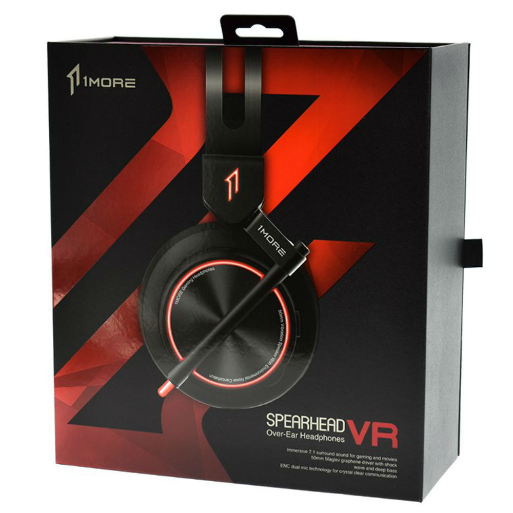 1MORE Spearhead VR Gaming Over-Ear Headphones H1005 (Black)