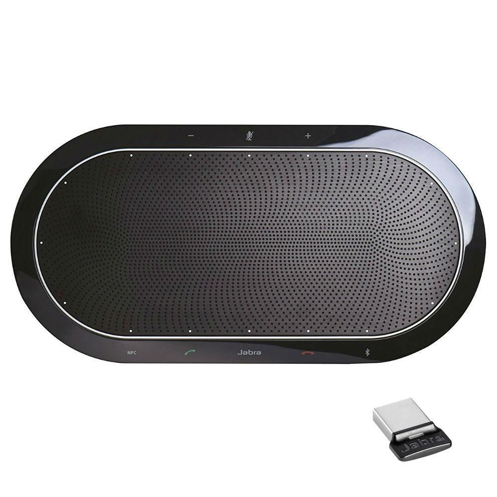 Jabra Speak 810 MS Wireless HD Office Speakerphone With Link 370 USB Adapter
