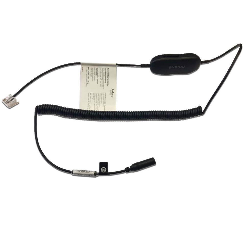 Jabra GN1200 CC Smart Cable & Audio Enhancer, 3.5mm to RJ9