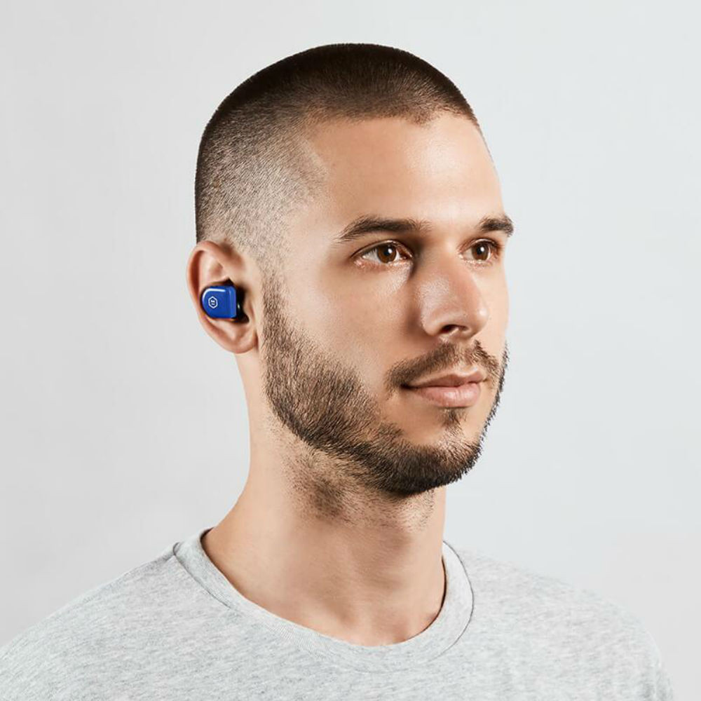 Master & Dynamic MW07 Go True Wireless Earphones (Electric Blue)