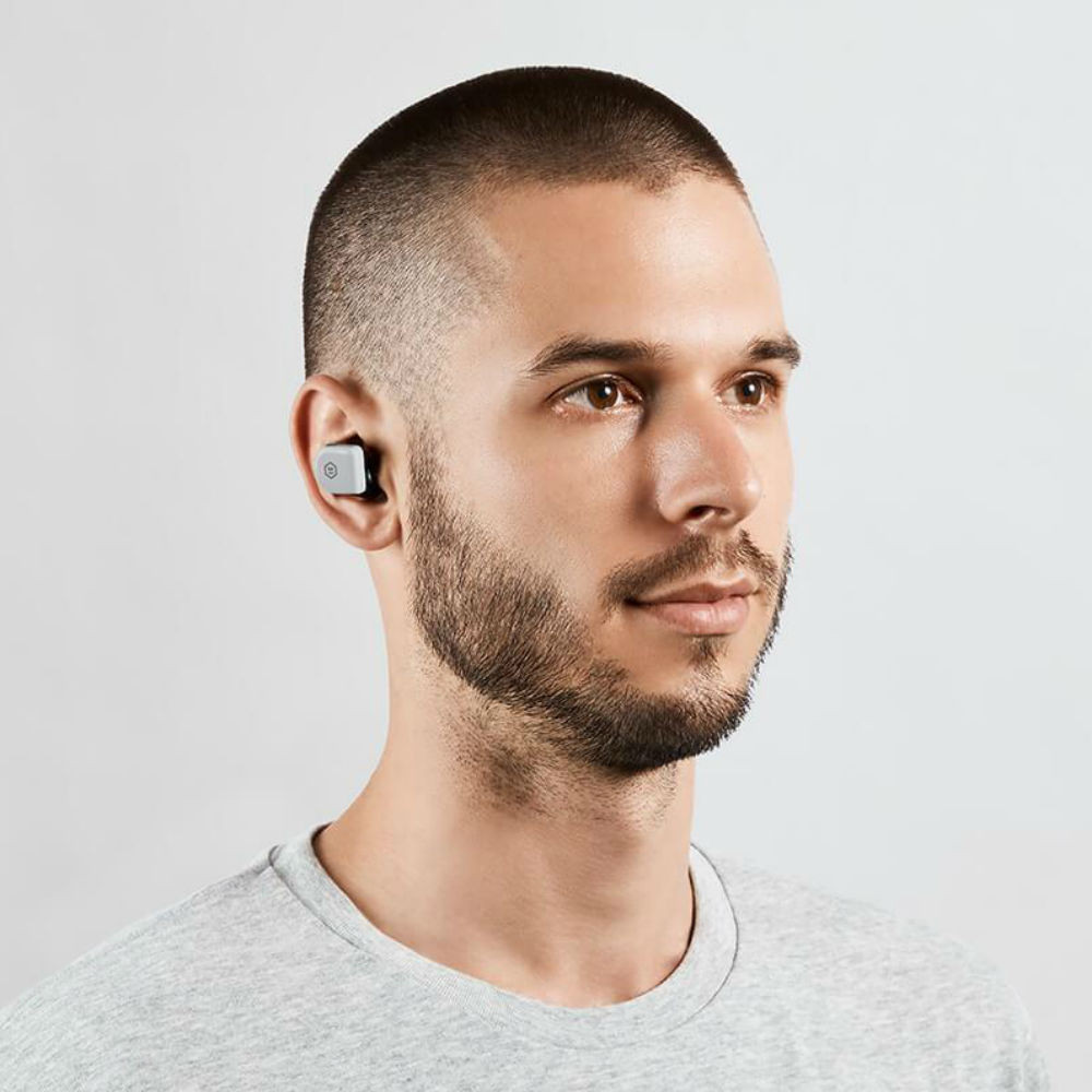 Master & Dynamic MW07 Go True Wireless Earphones (Stone Grey)