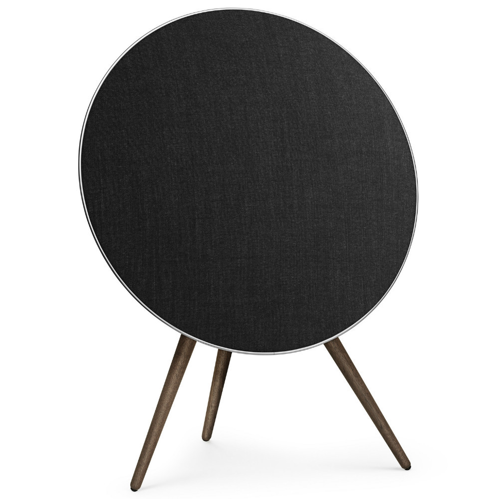 Bang & Olufsen Beoplay A9 4th Generation Wireless Speaker System With Voice Assistant (Black Cover / Walnut Legs)