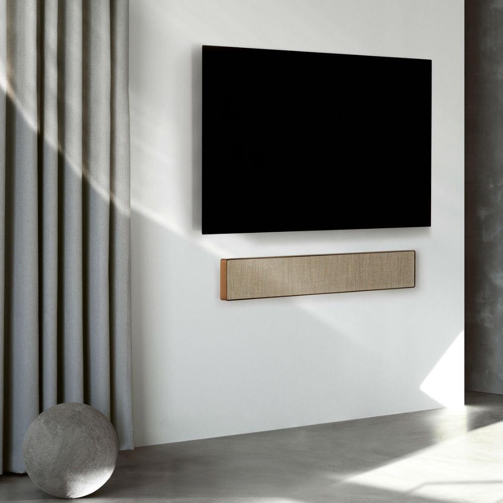 Bang & Olufsen Beosound Stage Wireless Soundbar With Dolby Atmos (Bronze Tone / Warm Taupe)