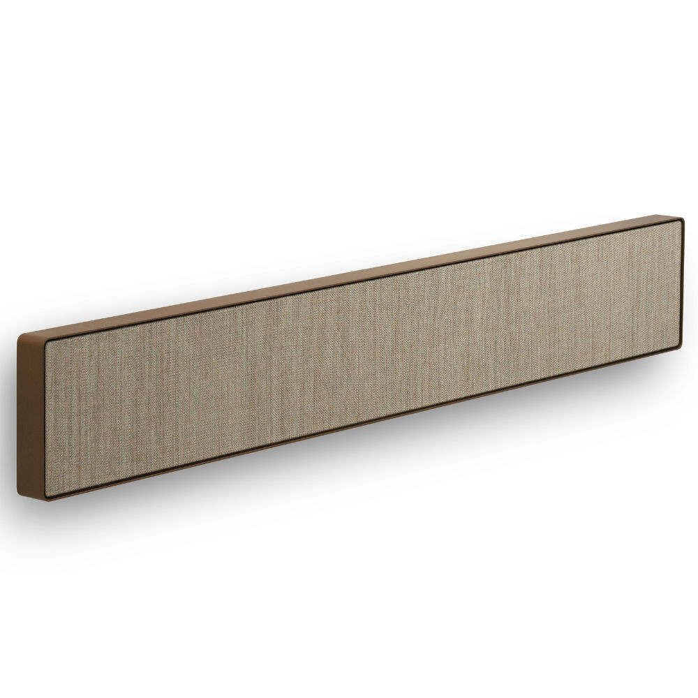 Bang & Olufsen Beosound Stage Wireless Soundbar With Dolby Atmos (Bronze Tone / Warm Taupe)