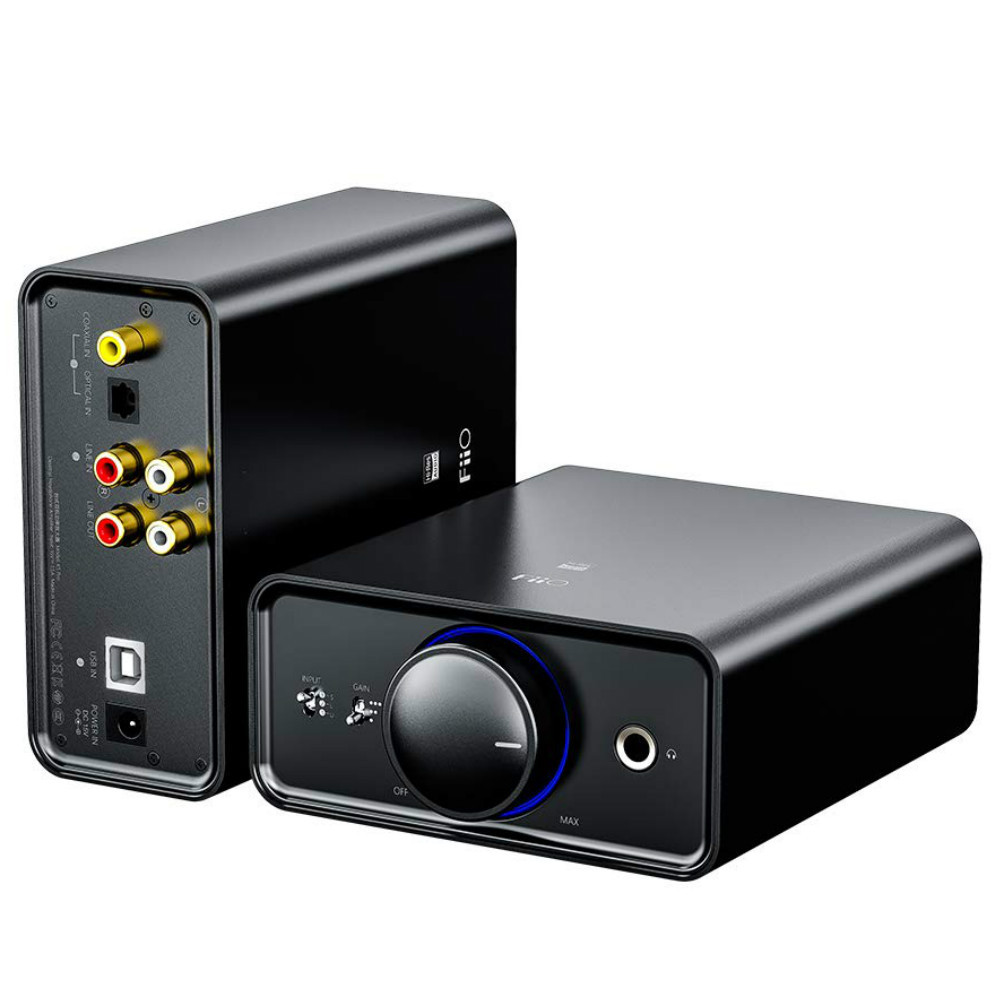 Fiio K5 Pro Desktop DAC & Amplifier (Black)