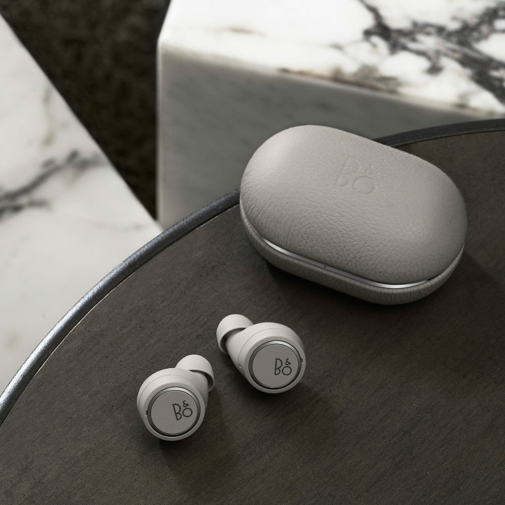 Bang & Olufsen Beoplay E8 3rd Gen Wireless Earbuds With Wireless Charging Case (Grey Mist)