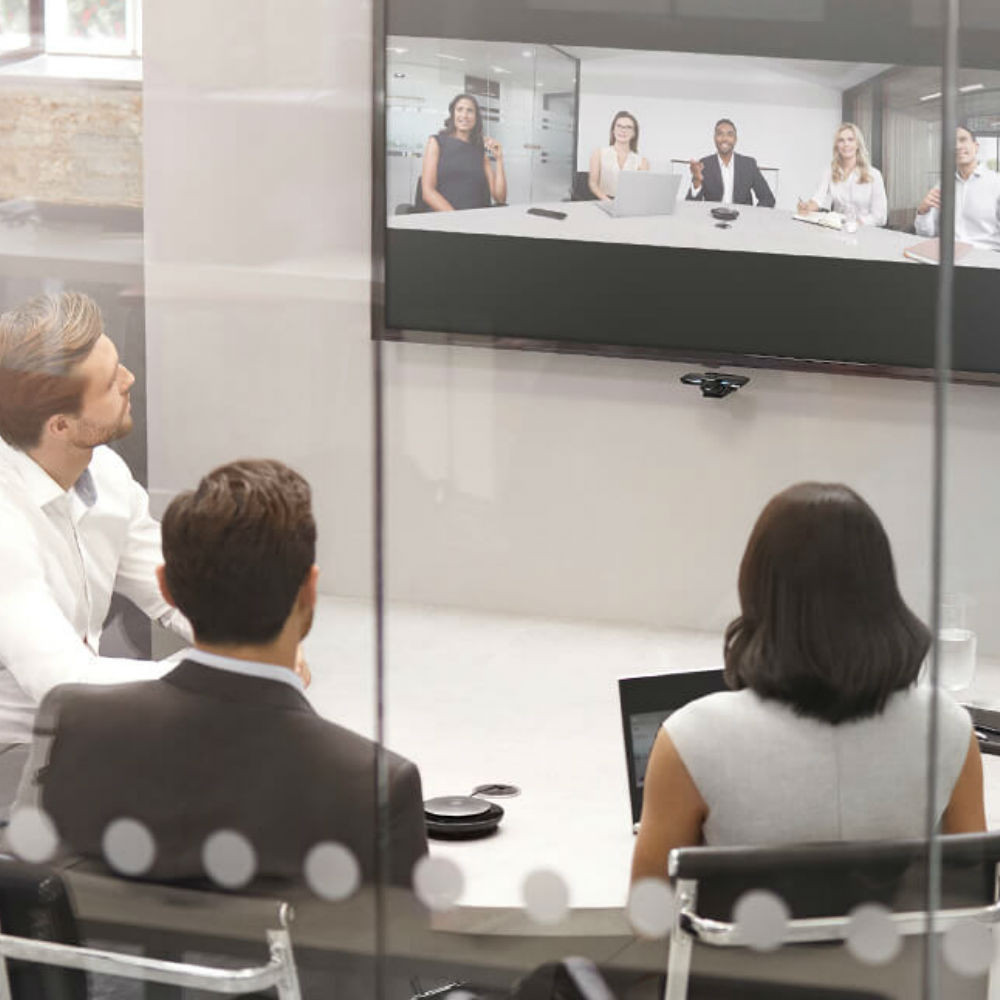 Jabra PanaCast Panoramic 4K Video Conferencing Camera With Built-In Mic