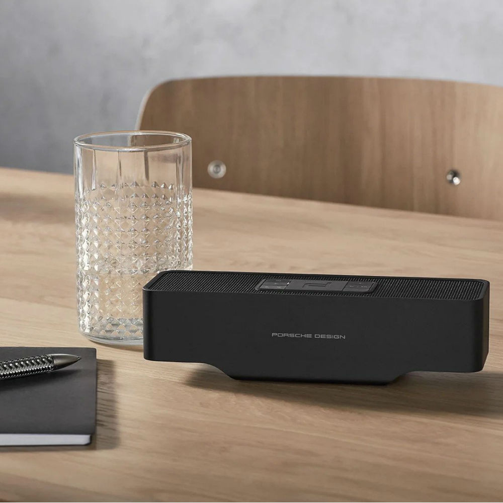 KEF Porsche Design Gravity One Wireless Speaker (Black)