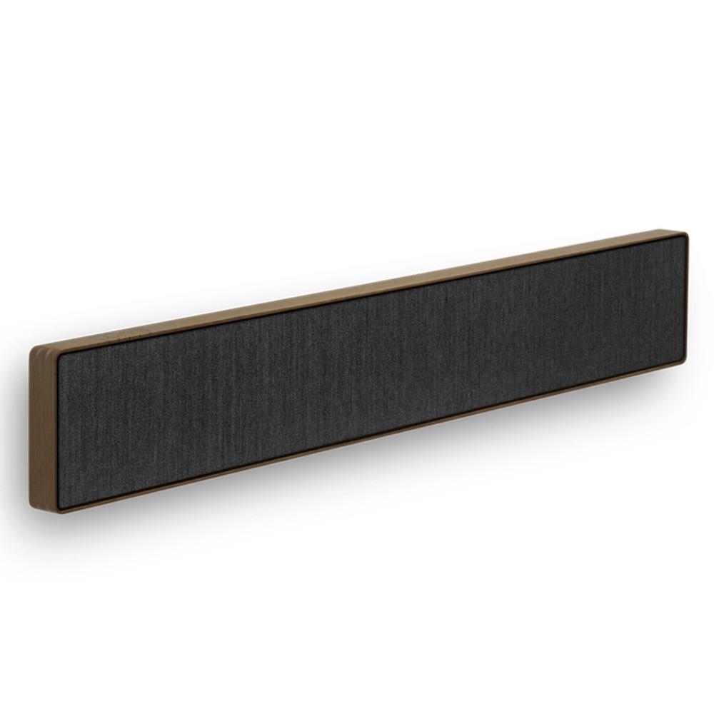 Bang & Olufsen Beosound Stage Wireless Soundbar With Dolby Atmos (Smoked Oak / Grey)