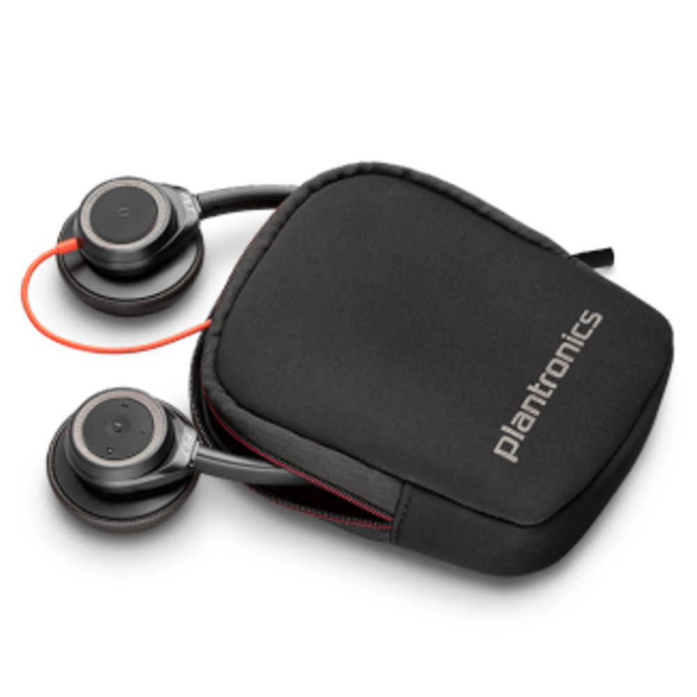 Poly Plantronics Blackwire 7225 Active Noise Cancelling Headset USB-A (Black)