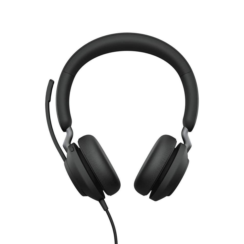 Jabra Evolve2 40 MS Stereo Headset USB-C (Black)