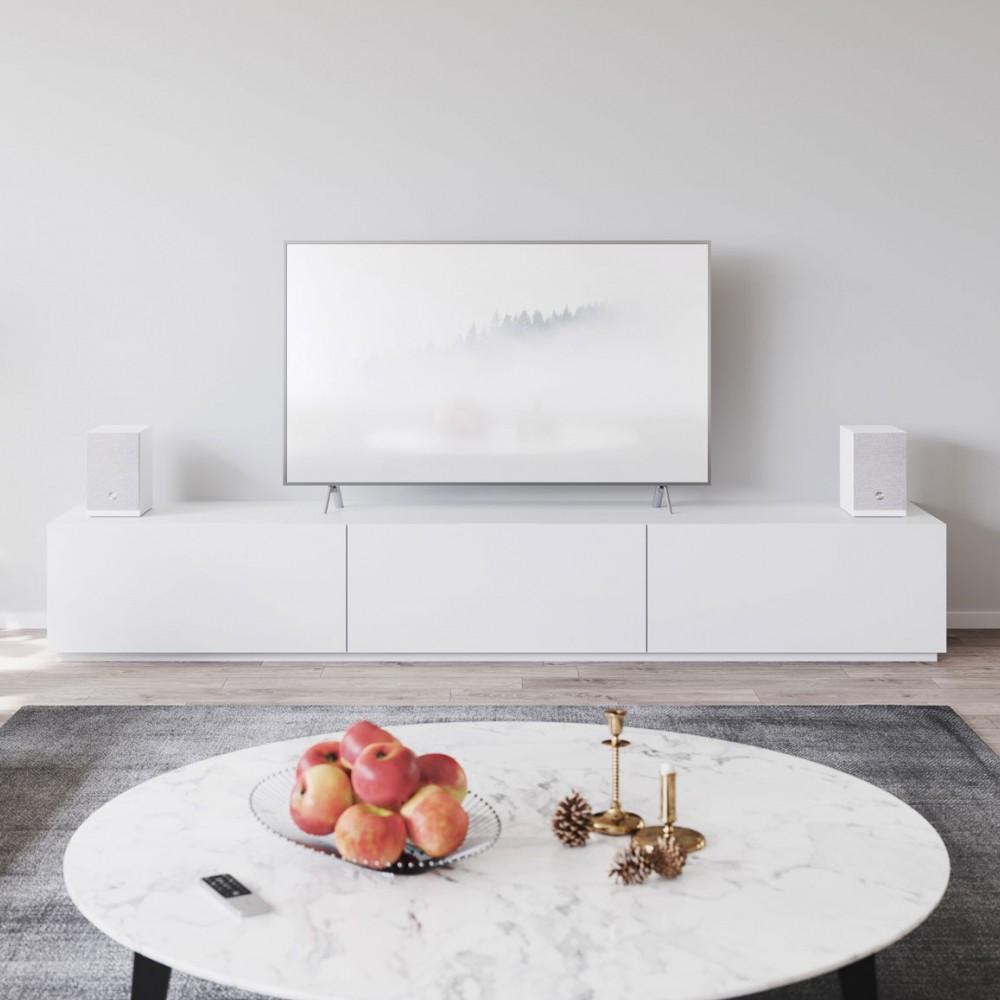 Audio Pro A26 Multiroom Home Theatre Speaker For TV (White)