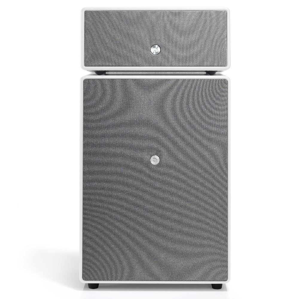 Audio Pro Drumfire Wireless Bluetooth Multiroom Speaker (Silk White)