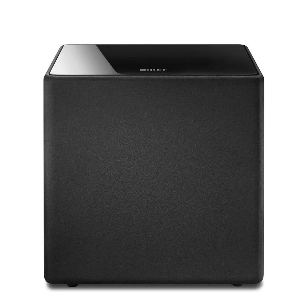 KEF Kube 10b 10 Inches Bass Driver Active Subwoofer For LSX and LS50 Wireless (Black)