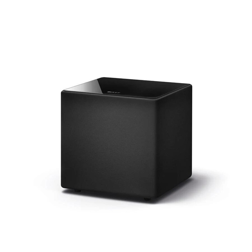 KEF Kube 8b 8 Inches Bass Driver Active Subwoofer For LSX and LS50 Wireless (Black)