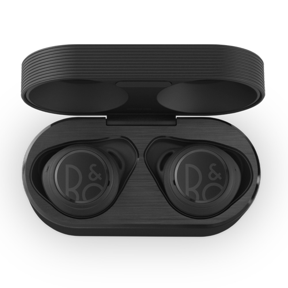 Bang & Olufsen Beoplay E8 Sport Wireless Earbuds With Wireless Charging Case (Black)