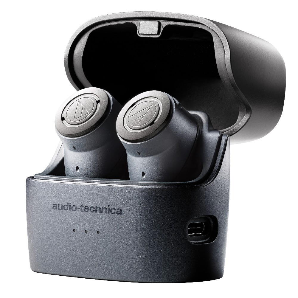 Audio-Technica ATH-ANC300TW QuietPoint Wireless Active Noise-Cancelling In-Ear Headphones