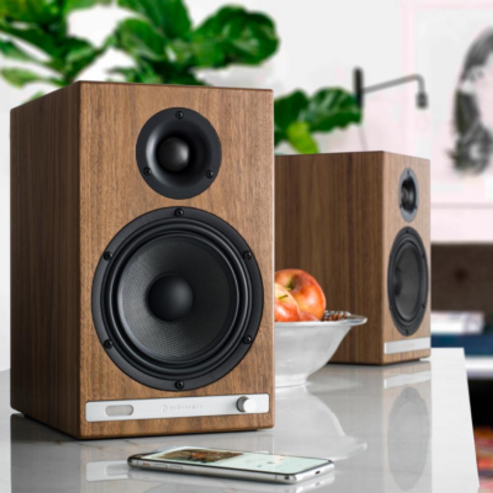 Audioengine HD6 Wireless Speaker System (Walnut)