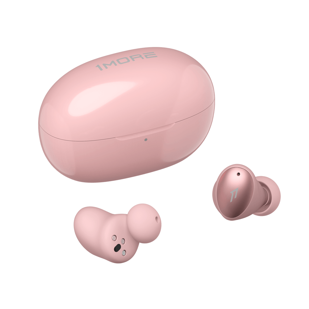 1MORE ColorBuds True Wireless In-Ear Headphones With Charging Case ESS6001T (Pink)