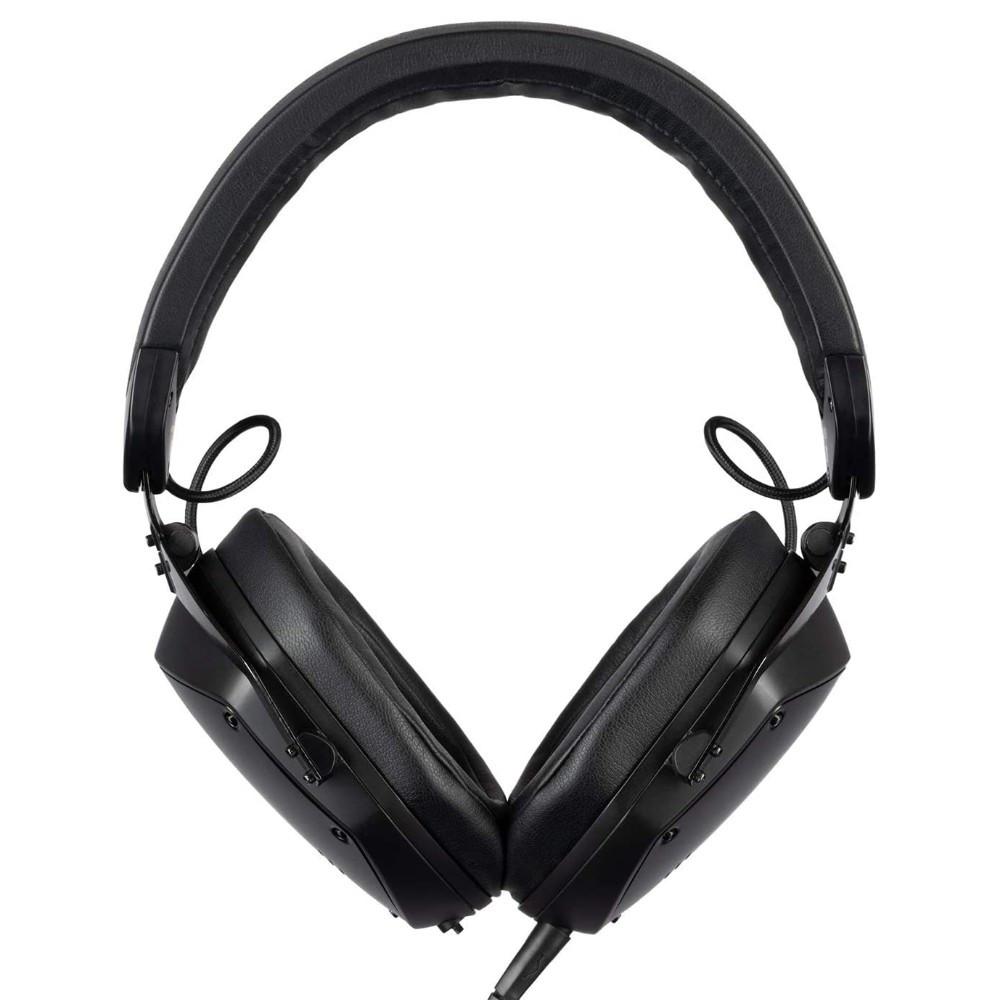 V-MODA Crossfade M-200 Audiophile Professional Studio Headphones (Matte Black Metal)
