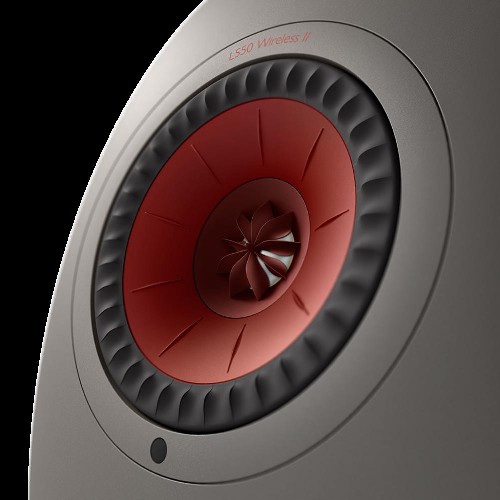 KEF LS50 Wireless II Hi-Fi Speaker System (Titanium Grey)