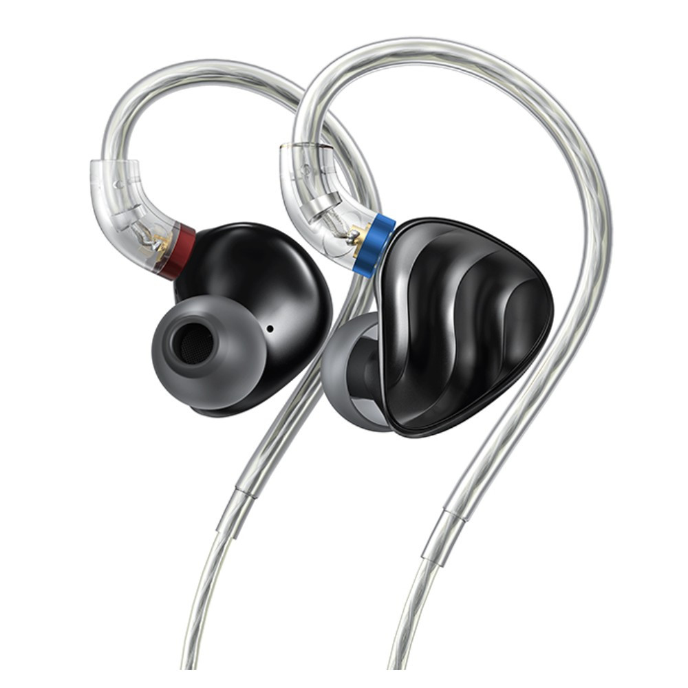 Fiio FH3 Triple Driver 1 Dynamic + 2 Knowles BA In-Ear Monitors (Black)