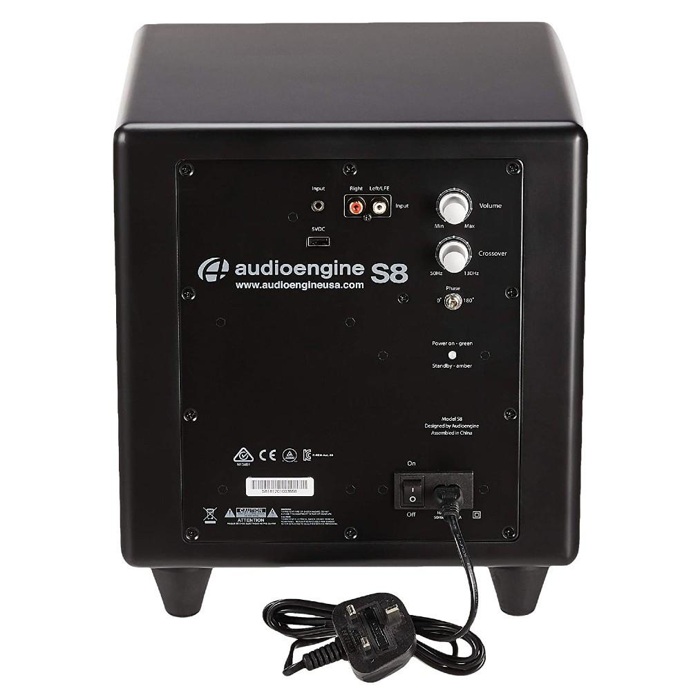 Audioengine S8 Powered Subwoofer (Satin Black)