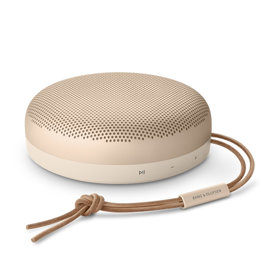 Bang & Olufsen Beosound A1 2nd Gen Wireless Speaker With Microphone (Gold Tone)