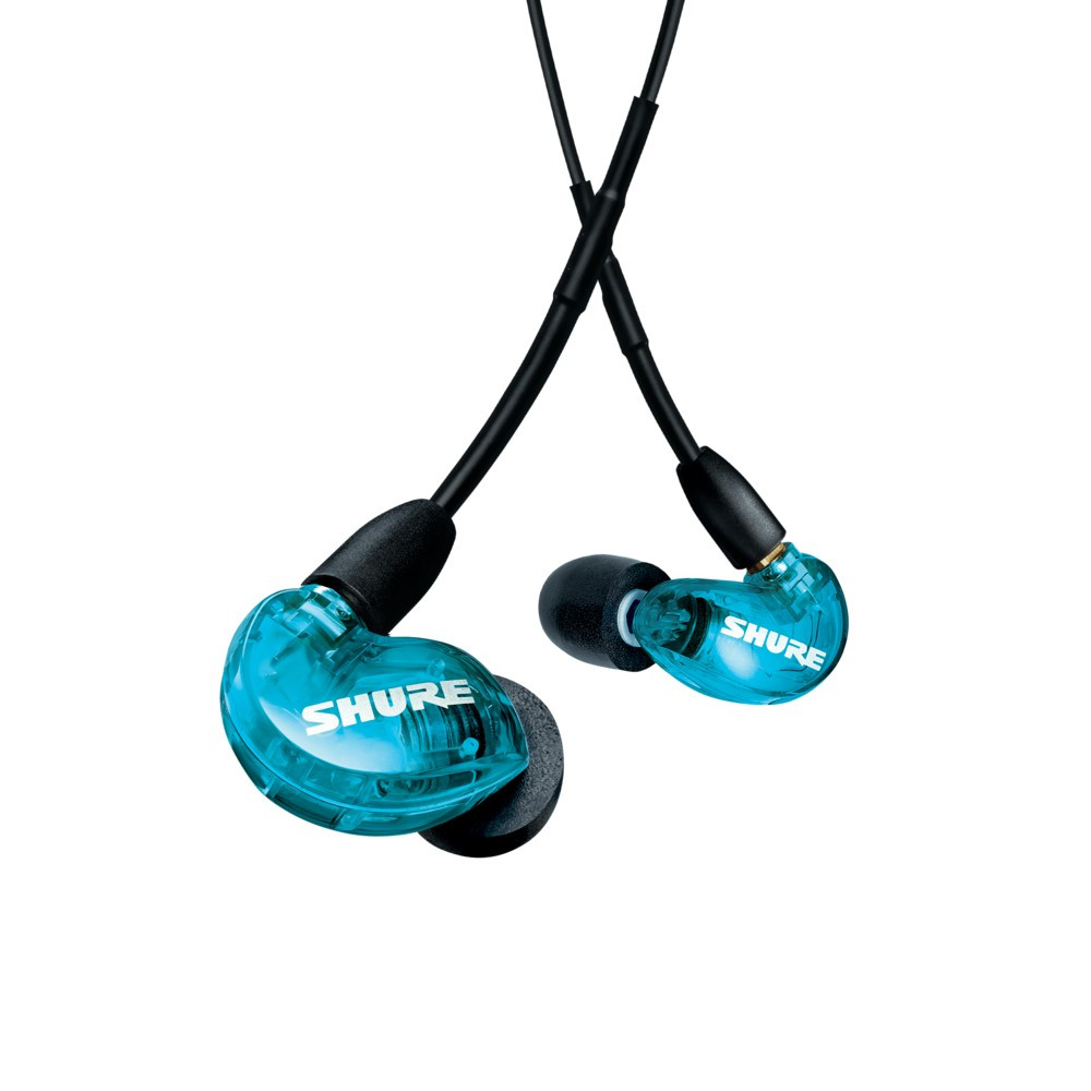 Shure Aonic 215 Sound Isolating Earphones With Integrated Remote and Mic (Blue)