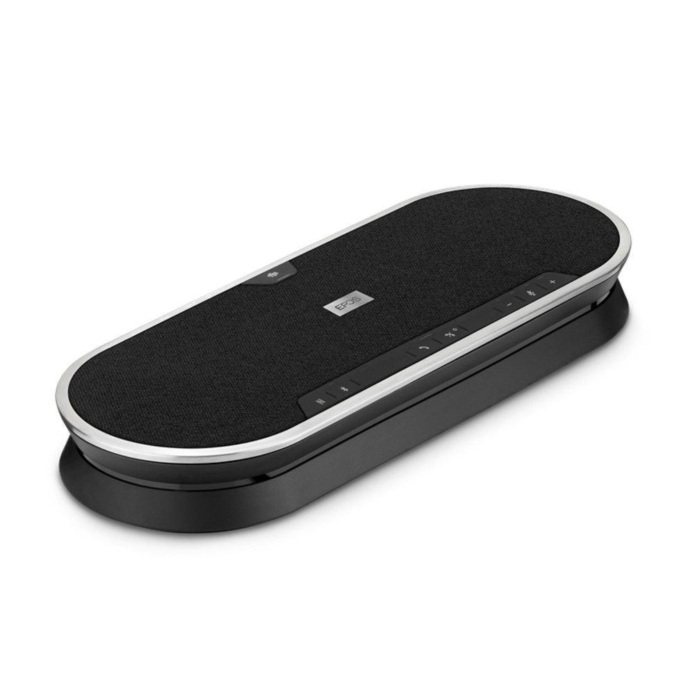 EPOS Expand 80 Wireless Bluetooth Conference Speakerphone, With BTD 800 USB Dongle, USB-A, USB-C