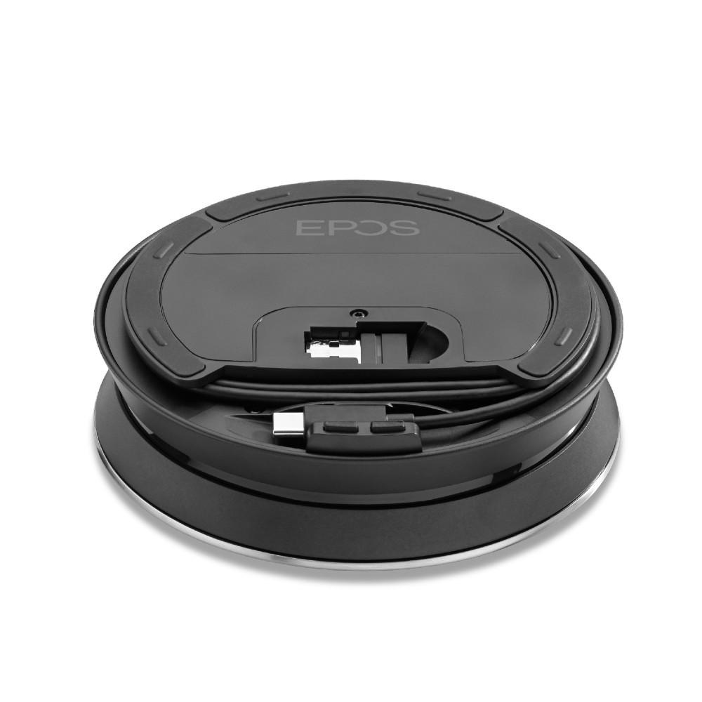 EPOS Expand 30T Wireless Bluetooth Speakerphone, With BTD 800 USB Dongle, MS Teams, USB-A, USB-C