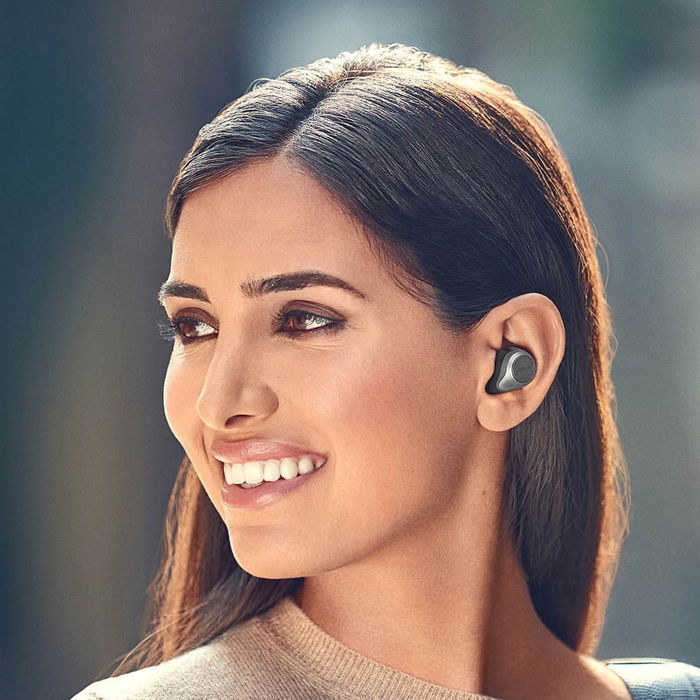 Jabra Elite 85t True Wireless Earbuds With Advanced Active Noise Cancellation And Wireless Charging Case (Gold Beige)
