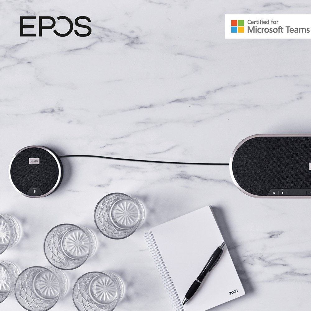 EPOS Expansion Mic For Expand 80 Conference Speakerphone, One-Pack