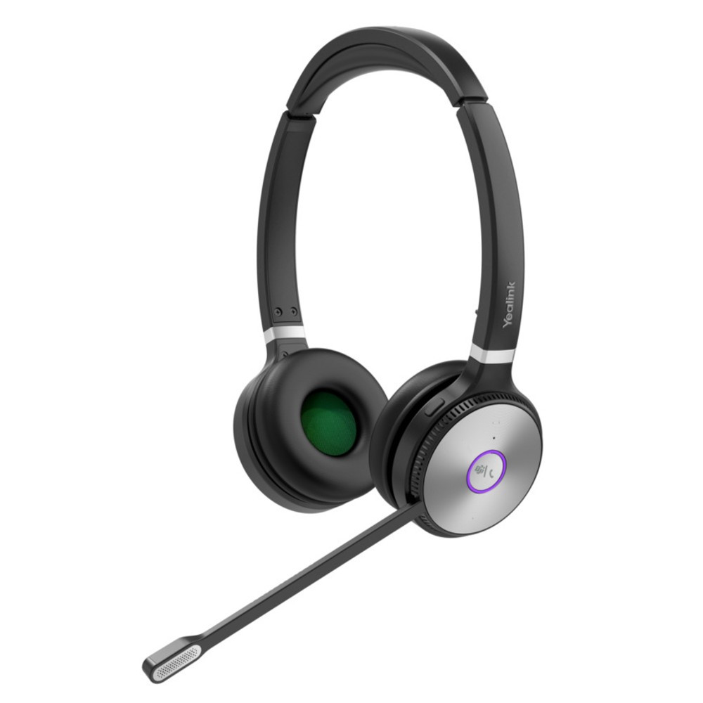 Yealink WH62 DECT Wireless Stereo Headset, MS Teams, With UC Workstation