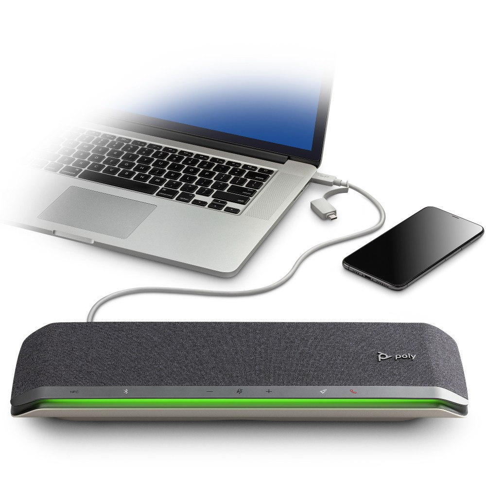 Poly Sync 60 Smart Wireless Conference Speakerphone, MS Teams, USB-A, USB-C