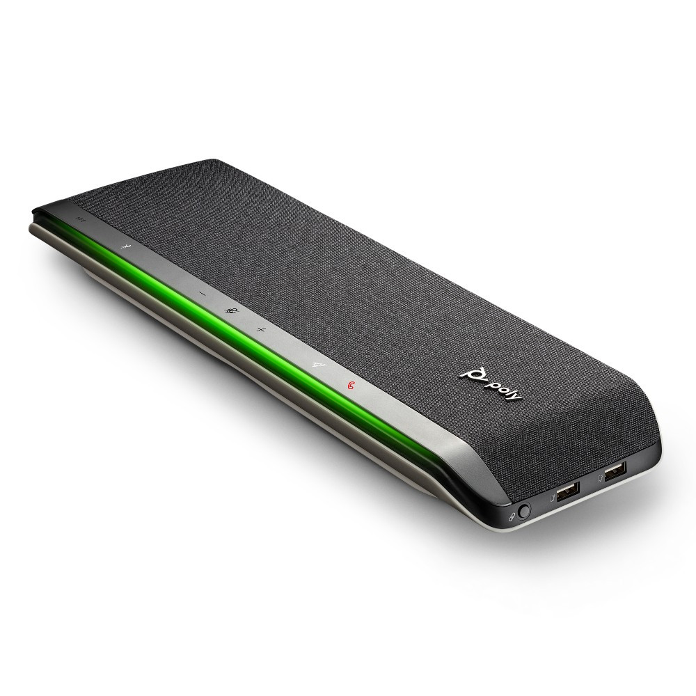 Poly Sync 60 Smart Wireless Conference Speakerphone, USB-A, USB-C