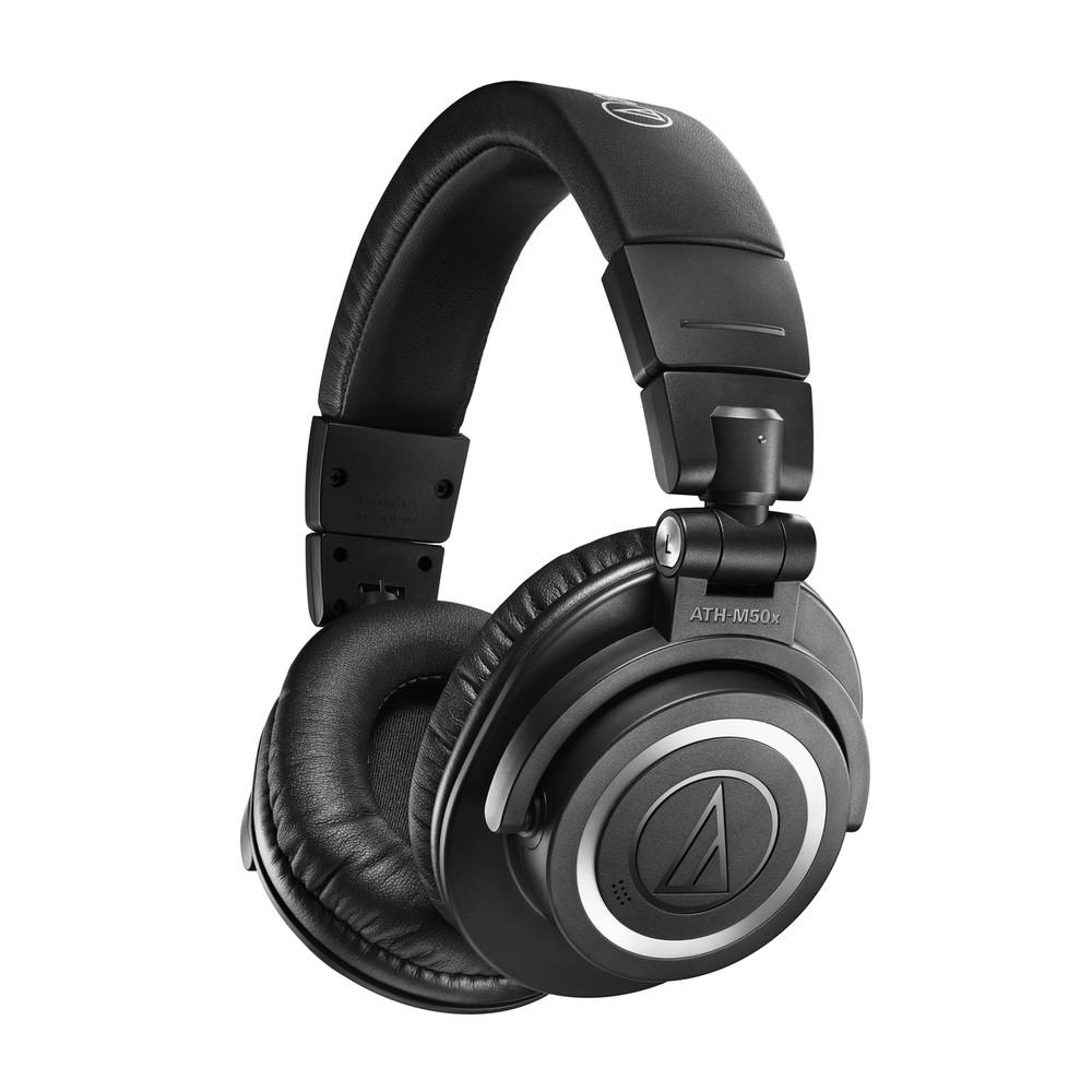 Audio-Technica ATH-M50xBT2 Wireless Over-Ear Headphones, Closed-Back (Black)