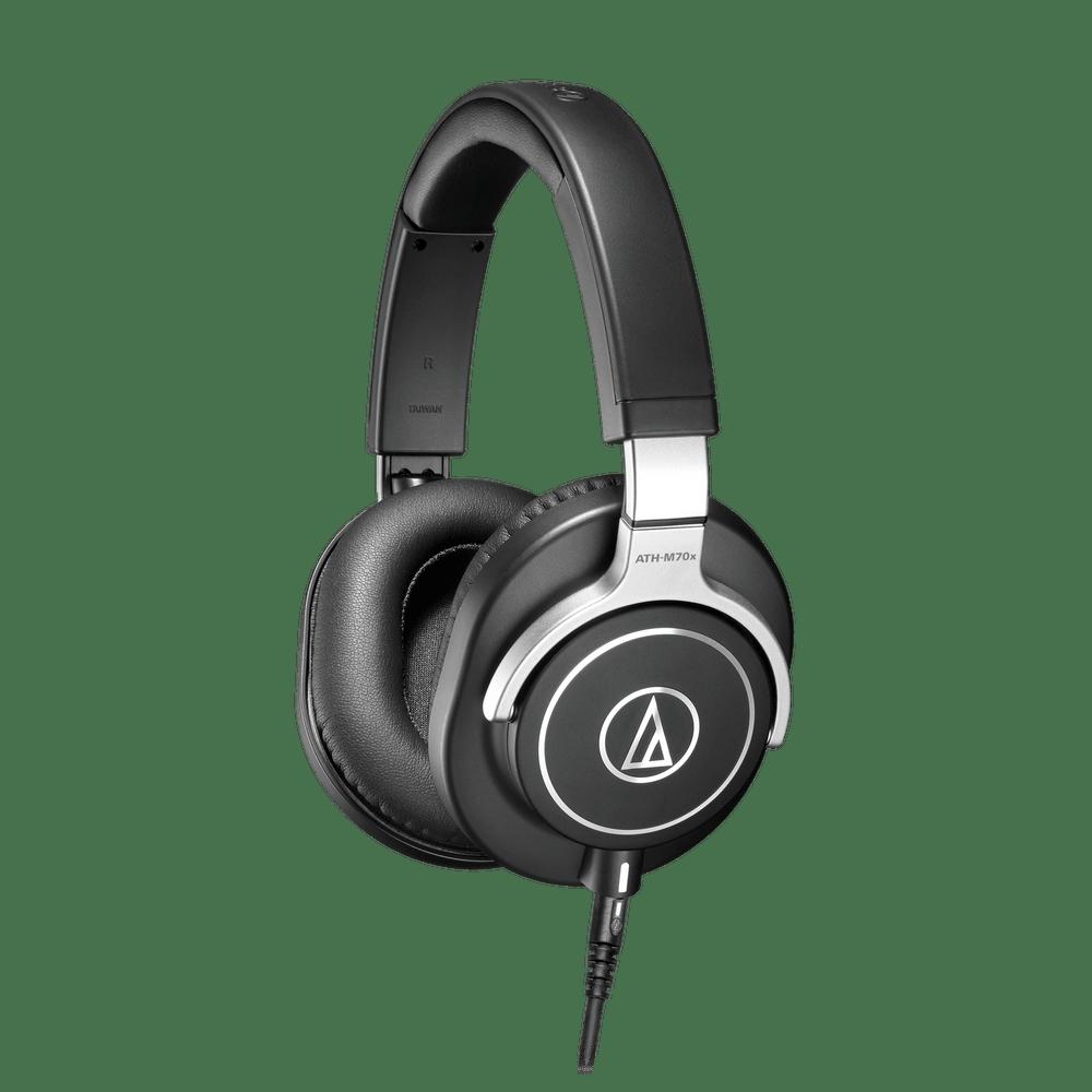 Audio-Technica ATH-M70X Professional Monitor Headphones, Closed Back