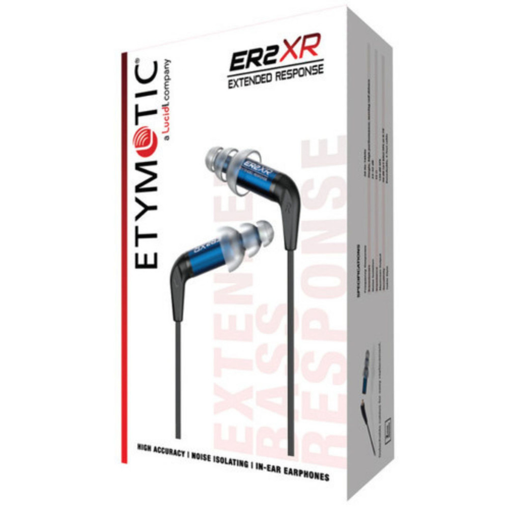 Etymotic ER2XR Extended Response Earphones