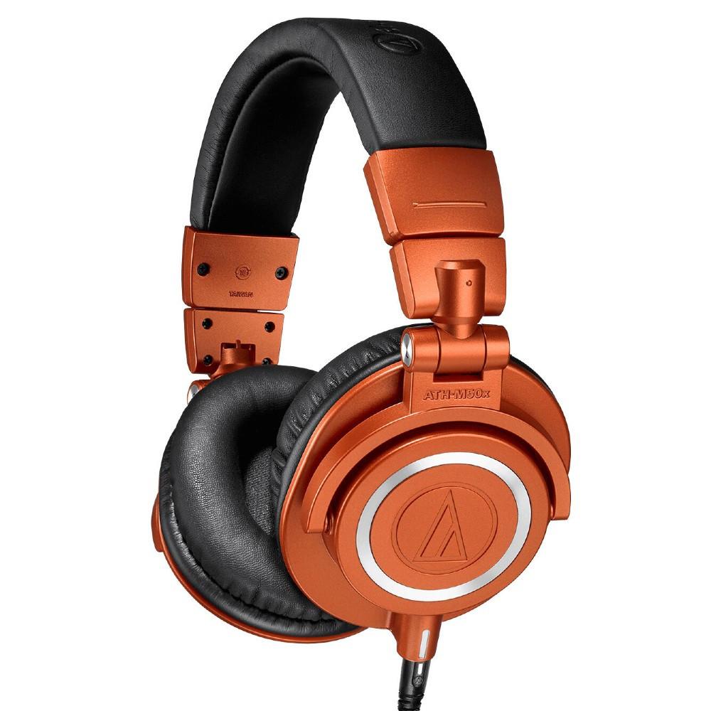 Audio-Technica ATH-M50x MO Limited Edition Professional Monitor Headphones, Closed-Back (Lantern Glow)