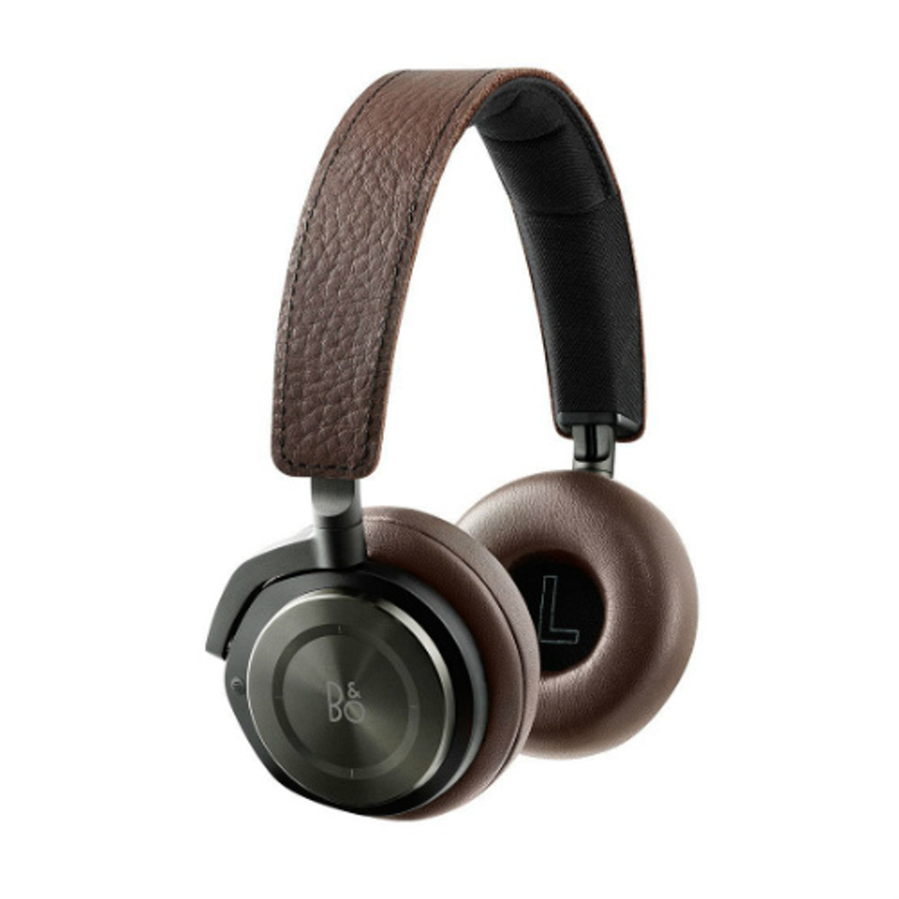 B&O PLAY by Bang & Olufsen BeoPlay H8 Wireless Noise Cancelling Headphones (Gray Hazel)