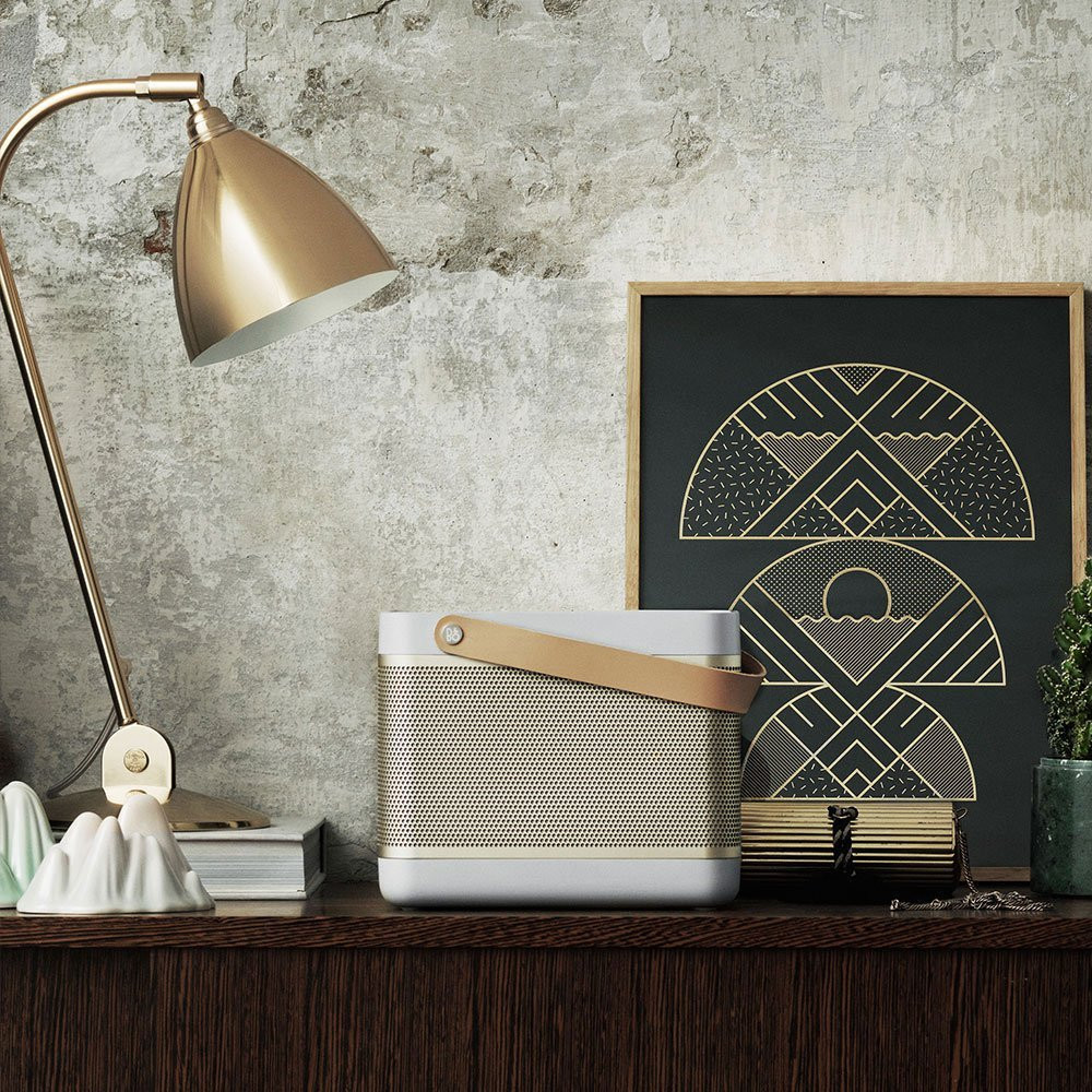 B&O PLAY by Bang & Olufsen BeoLit 15 Wireless Speaker (Natural Champagne)