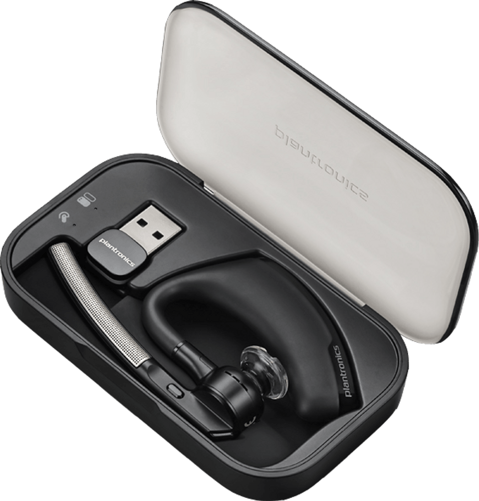 Plantronics Voyager Legend UC B235-M Microsoft Bluetooth Headset With USB Adaptor (Black)