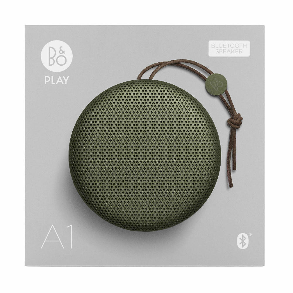 Bang & Olufsen BeoPlay A1 Portable Bluetooth Speaker (Moss Green)