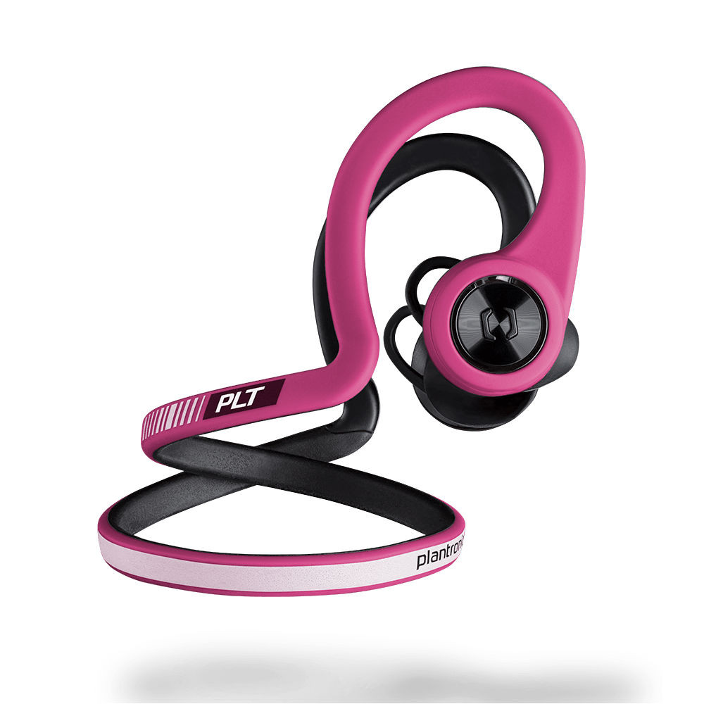 Plantronics BackBeat Fit Wireless Sport Headphones (Fuschia)