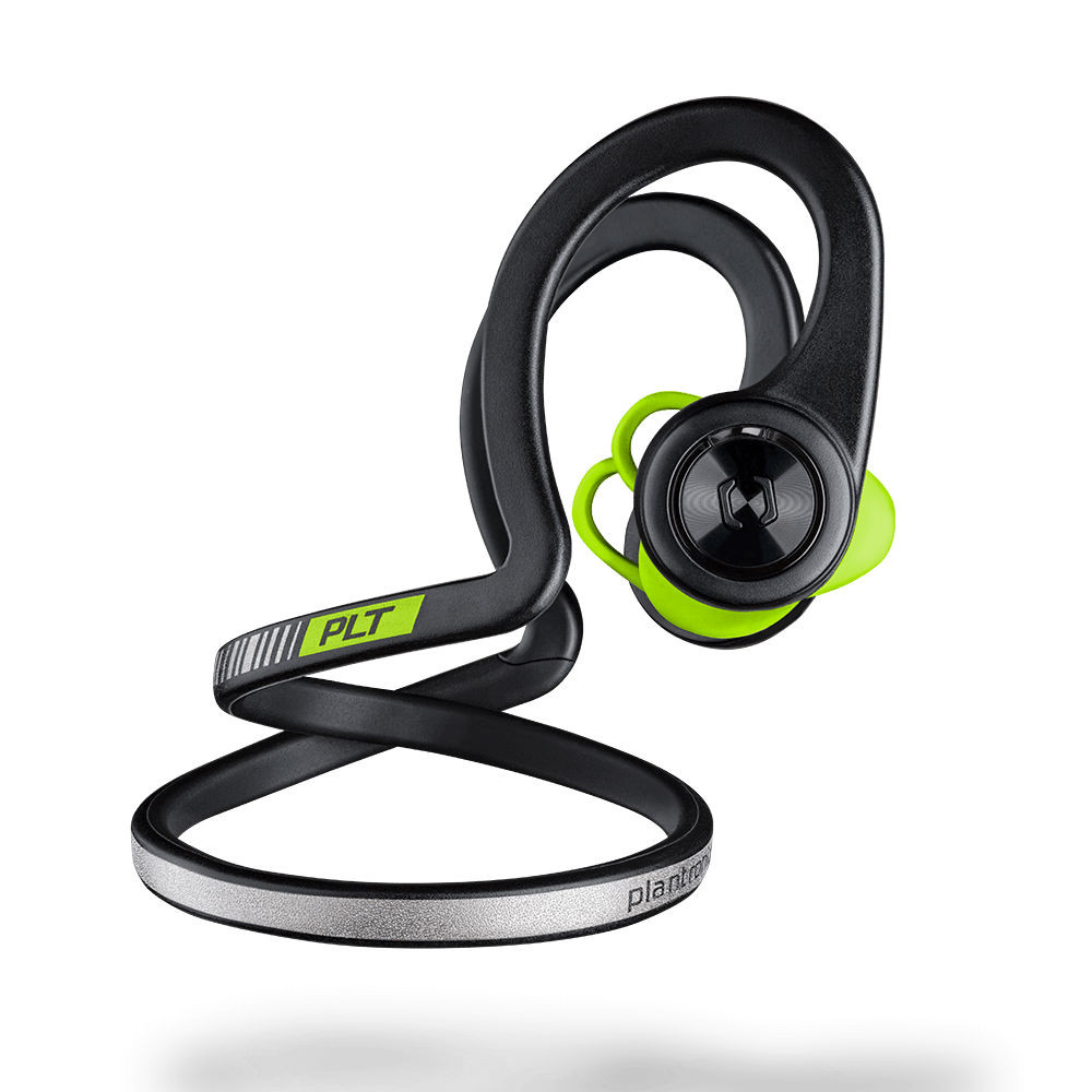 d0c45c00aea ... Plantronics BackBeat Fit Wireless Sport Headphones (Black Core) ...