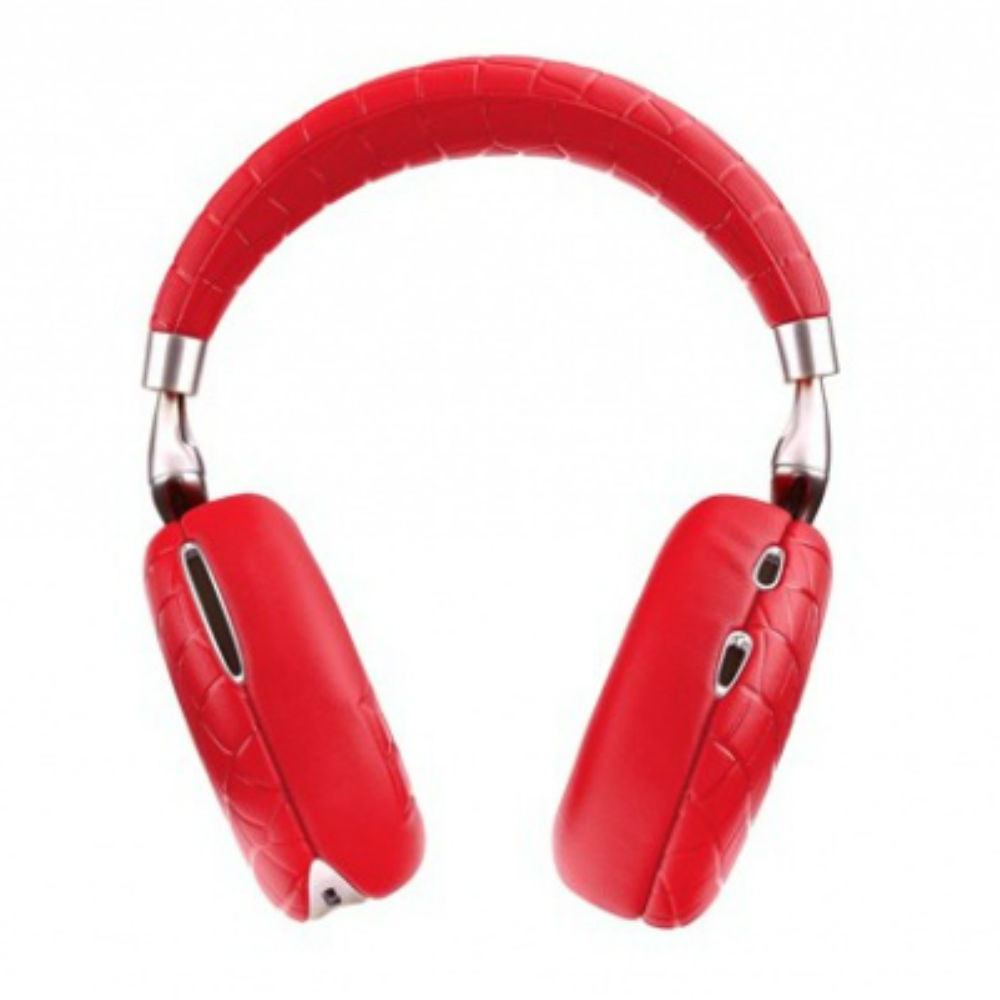 Parrot Zik 3 Wireless Noise Cancelling Headphones (Red Croc)