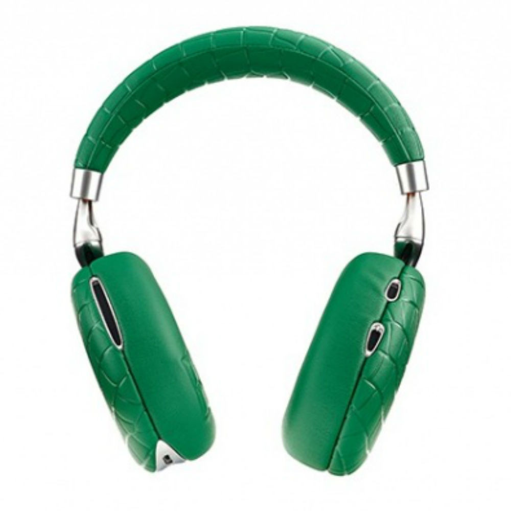 Parrot Zik 3 Wireless Noise Cancelling Headphones (Green Croc)