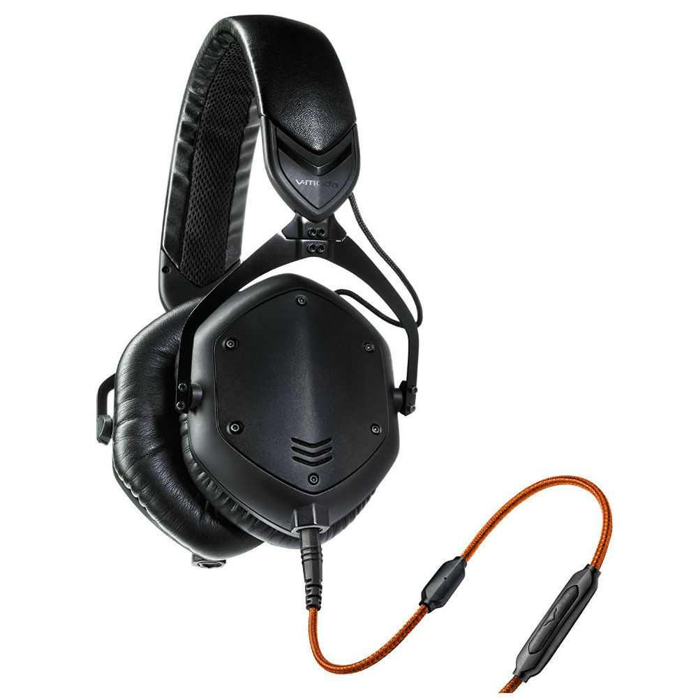 V-MODA Crossfade M-100 Over-Ear Headphones (Matte Black Metal)